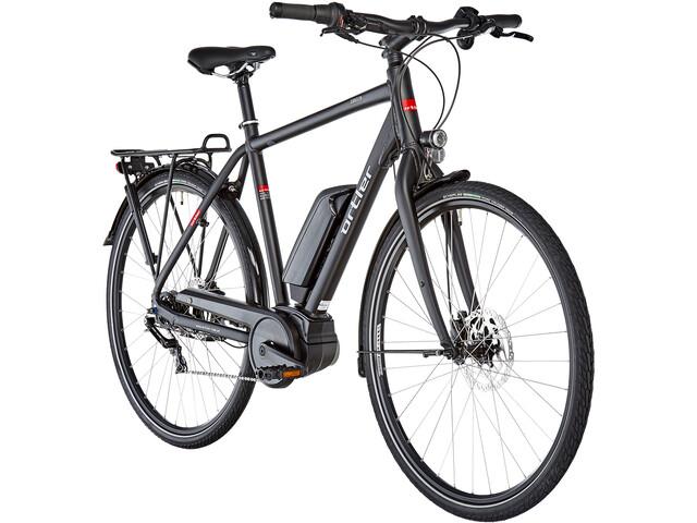 Ortler Zürich Disc FL E-citybike 7-trins sort | City-cykler